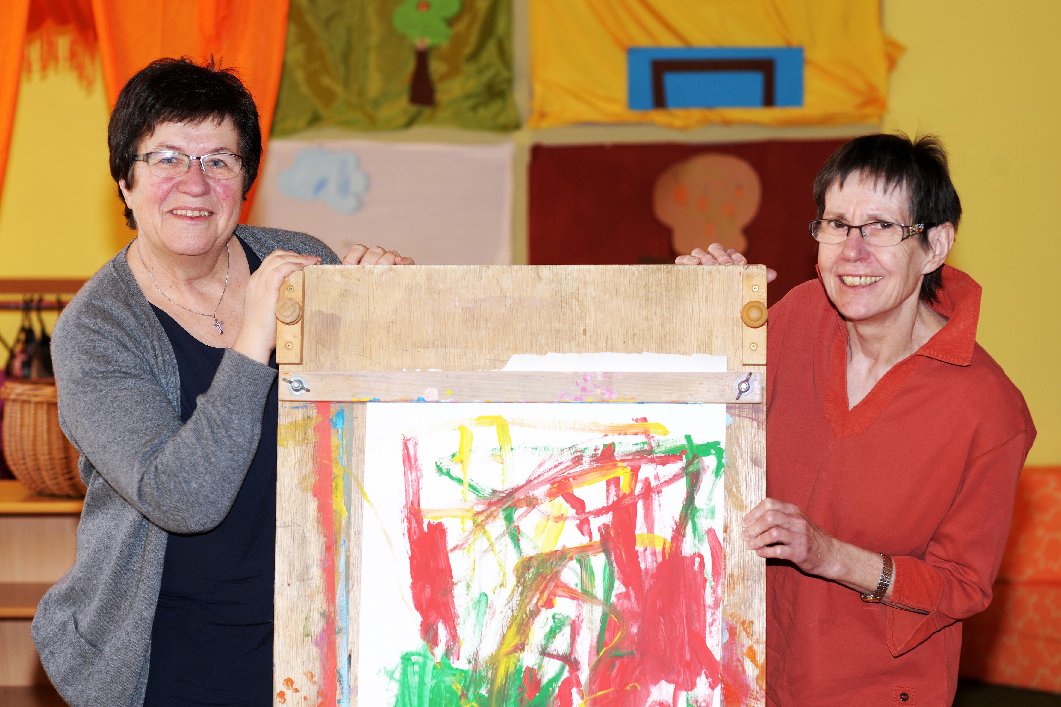Vertretungskräfte Rosmarie Hennche & Christine Burghof